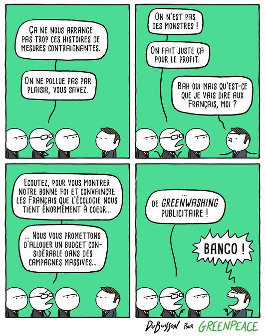 Greenpeace Greenwashing