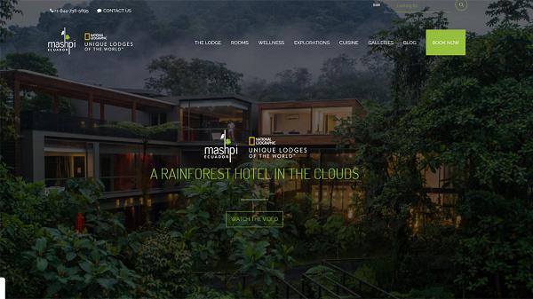 Eco Lodge - sustainable travel