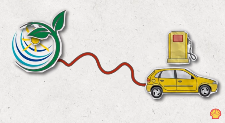 Compensation carbone transport individuel selon Shell